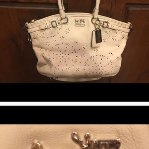 Authentic Ivory Coach Bag